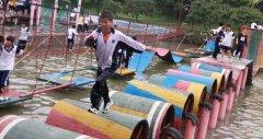 中山水上拓展项目—桶上飞
